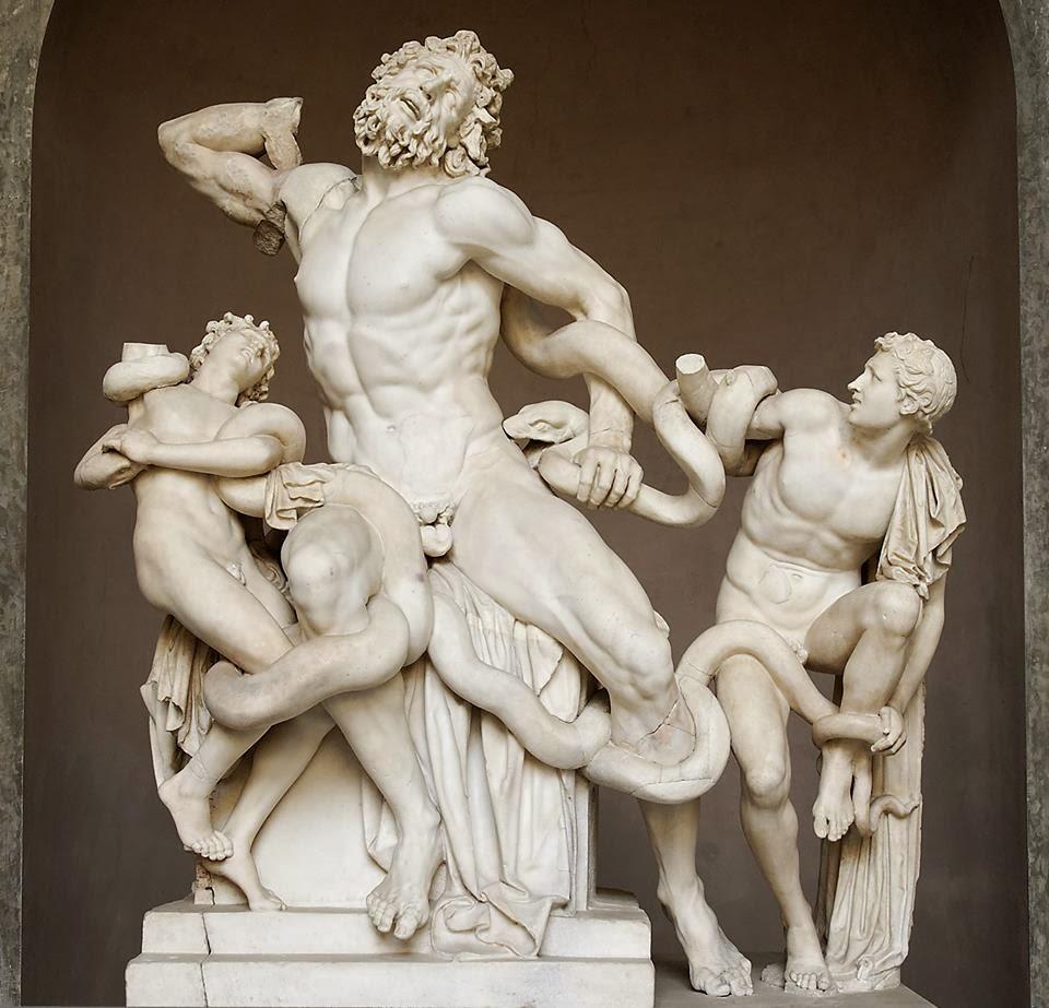 Антропологичное искусство античности.