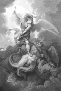 Ангел побеждает Сатану