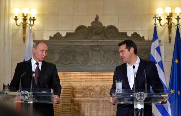Пресс-конференция Путина в Греции 27 мая 2016