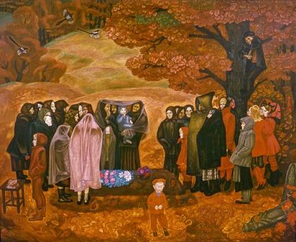 Виктор Попков. Хороший человек была бабка Анисья. 1971 - 1973