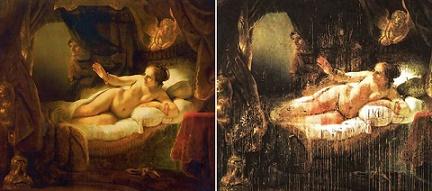 Рембрандт. Даная. 1637 - 1647