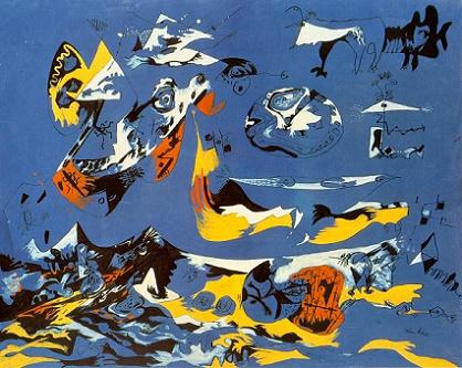 Джексон Поллок. Синее (Моби Дик). 1942