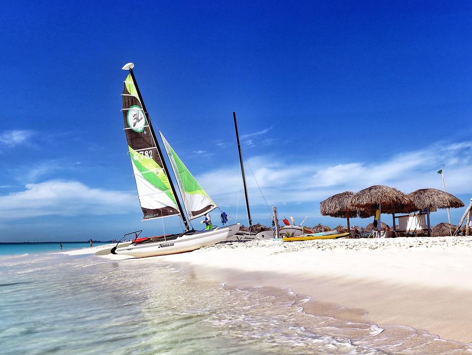 7 сказочных мест на Кубе. яхта