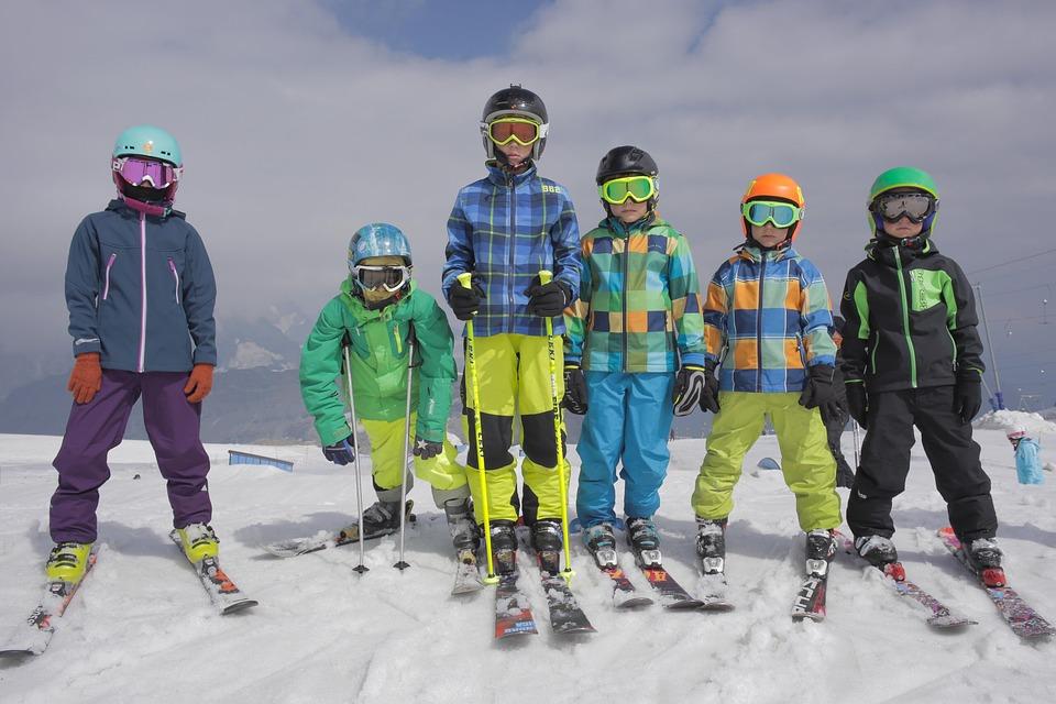 Каринтия. Лыжи.Дети
