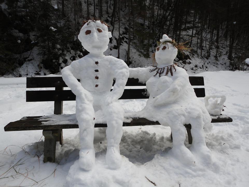 Каринтия. Снеговики1