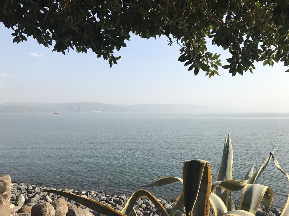 3 моря Израиля. Галилейское море