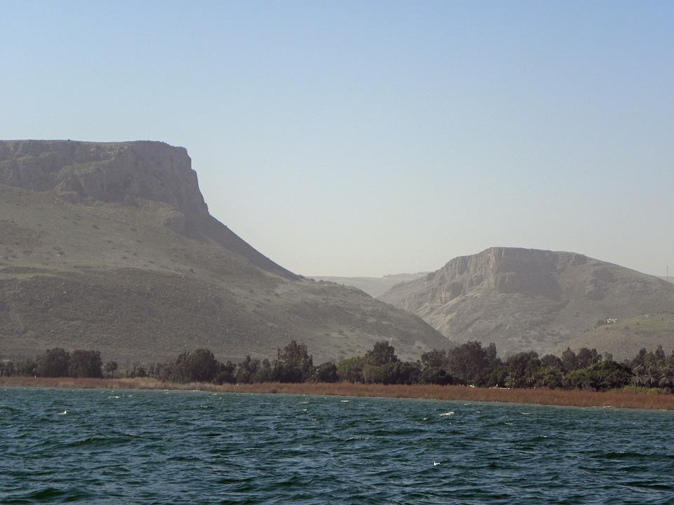 3 моря Израиля. Кинерет