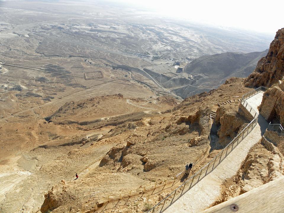 3 моря Израиля. Масада1