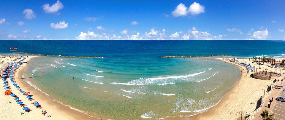 3 моря Израиля. Нетания