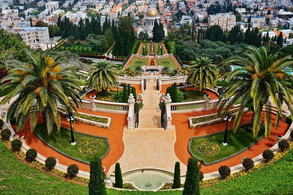 3 моря Израиля. Сады Бахаи2