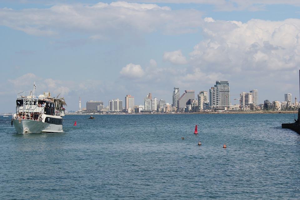3 моря Израиля. Тель-Авив.Корабль