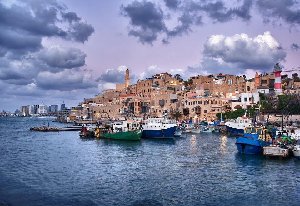 3 моря Израиля. Яффо.Порт