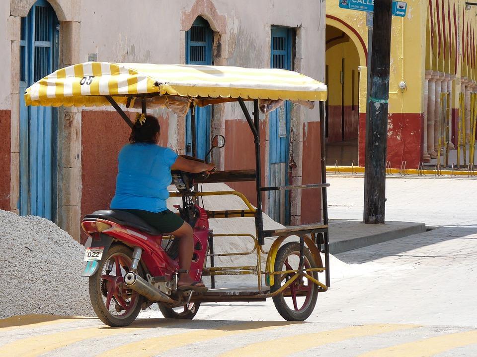 7 лучших мест Мексики. Мотоцикл.