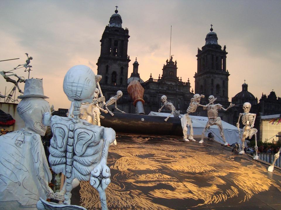 7 лучших мест Мексики. Скелеты.