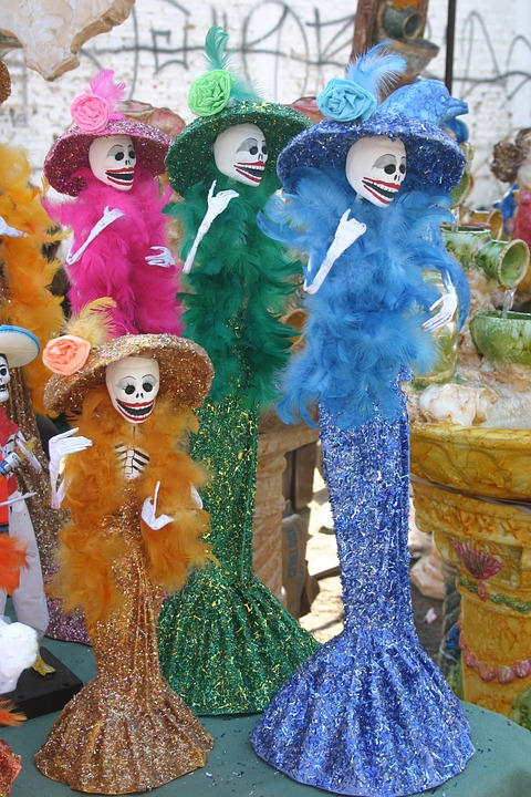 7 ярких примеров самобытной культуры Мексики. День мёртвых1