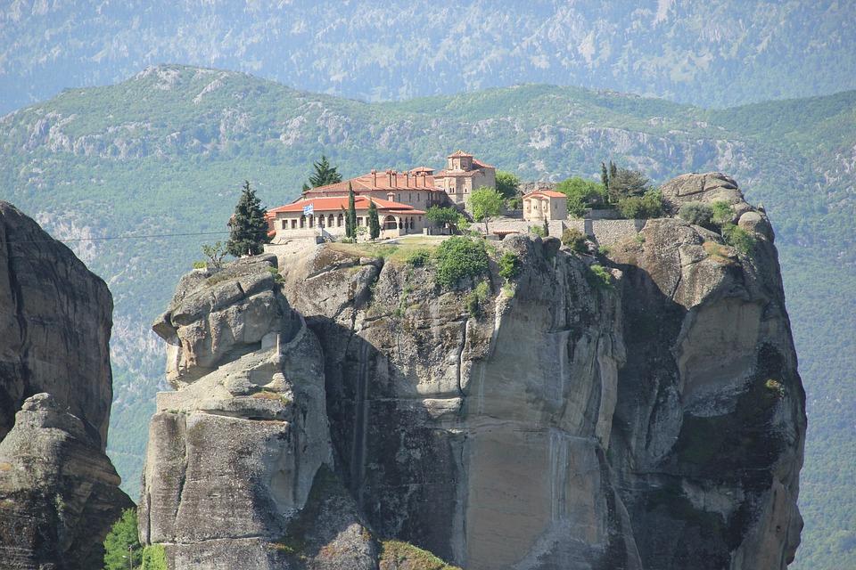 Греция. Метеоры1