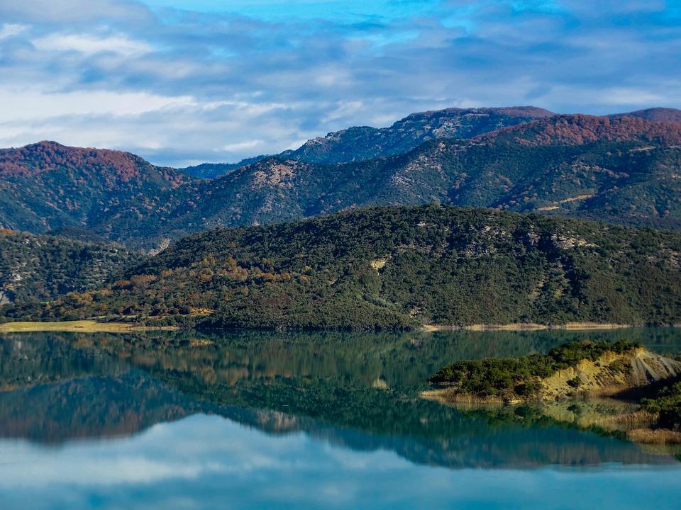 Греция. Озеро2