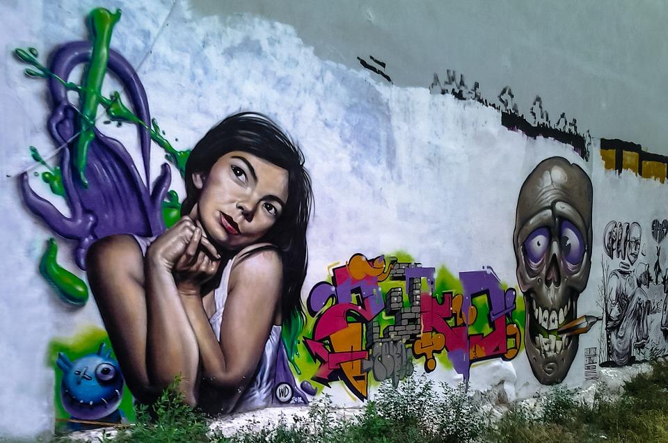 Салоники графити