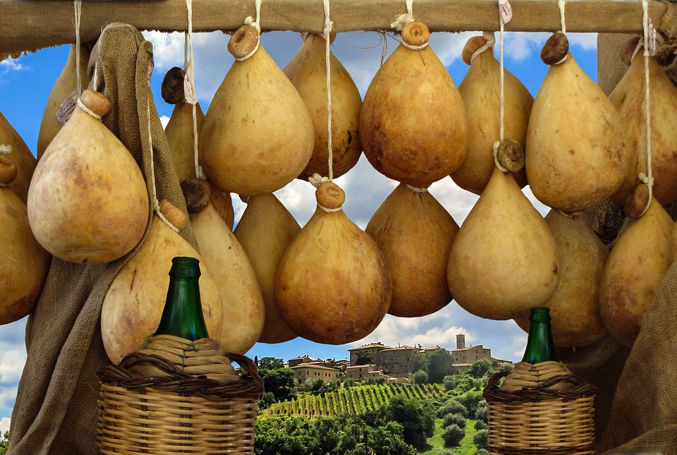 Сардиния. Сыр вино