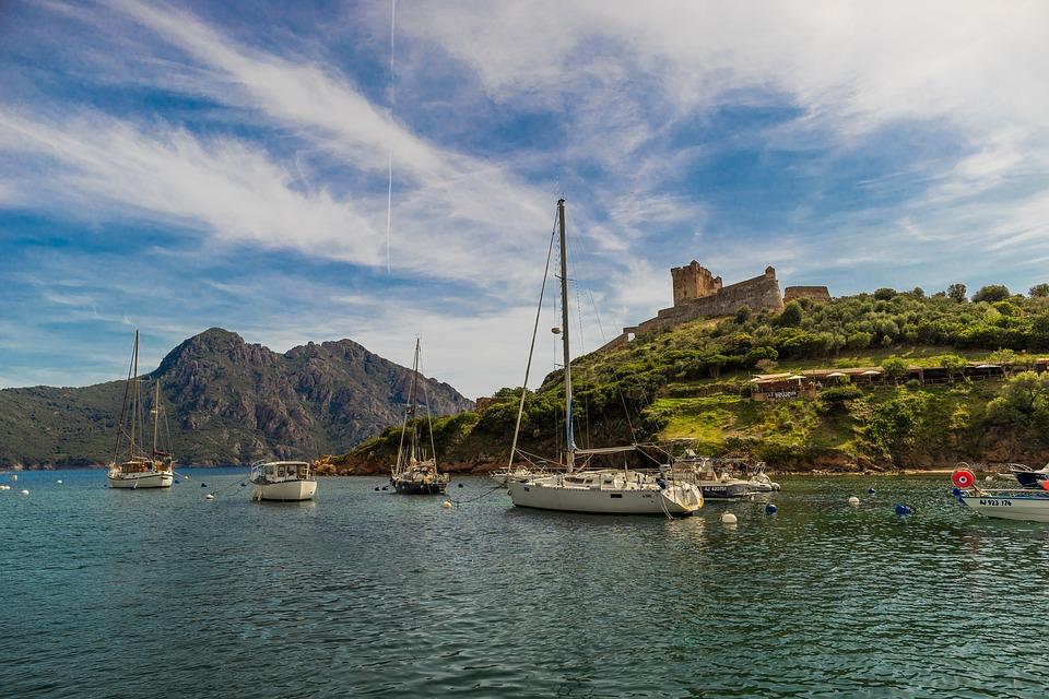 Сардиния. Яхты