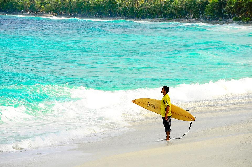 7 чудес сказочного царства.Мальдивы. Сёрф