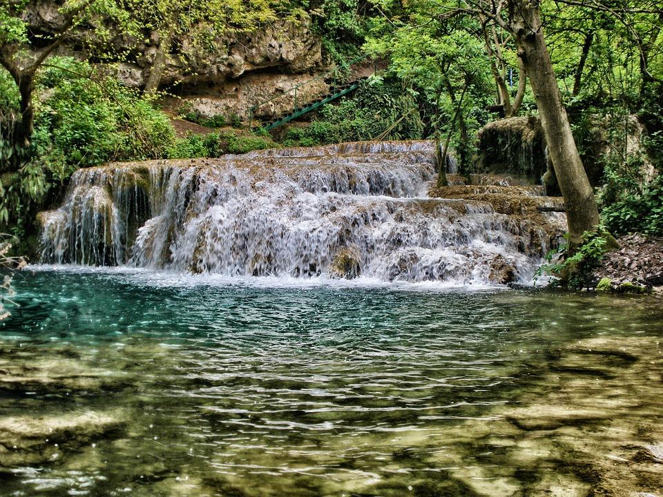 Болгария.Водопад