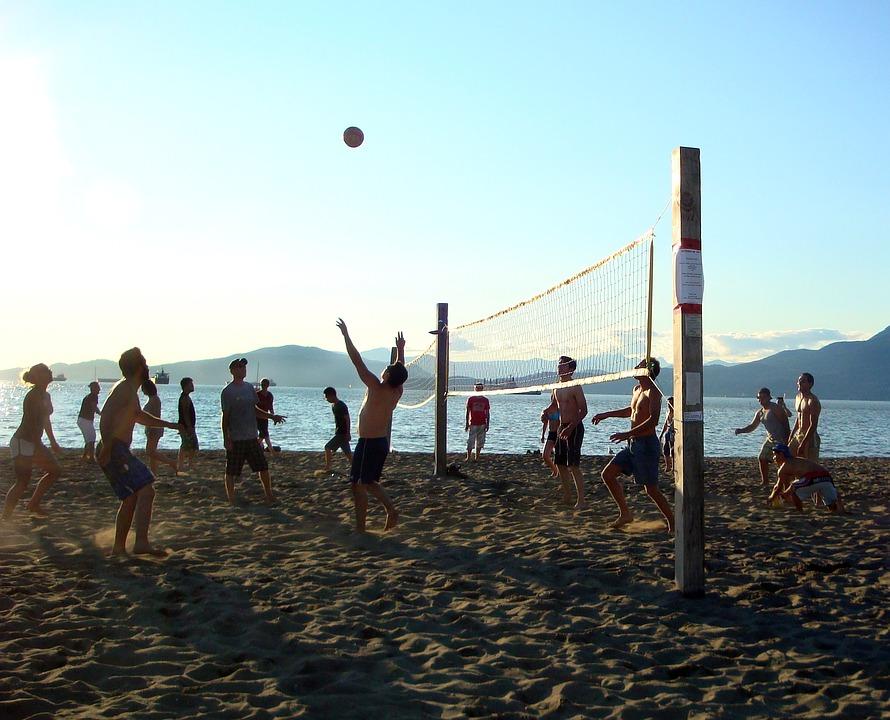 Искья.Пляжный волейбол