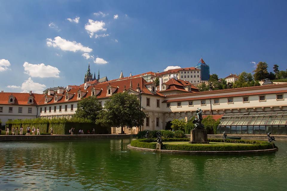 Прага.Вальдштейнский дворец