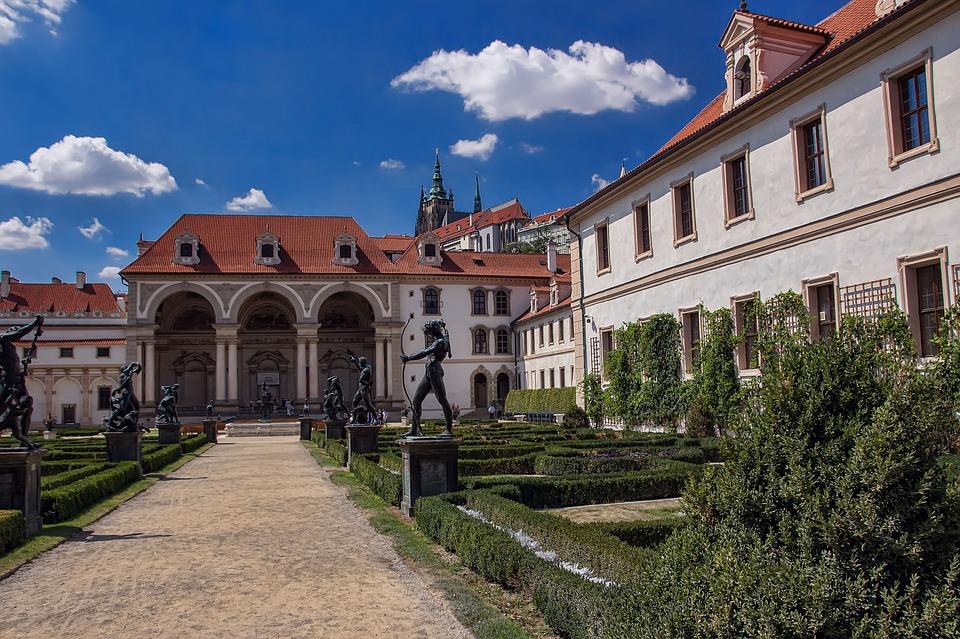 Прага.Вальдштейнский дворец1