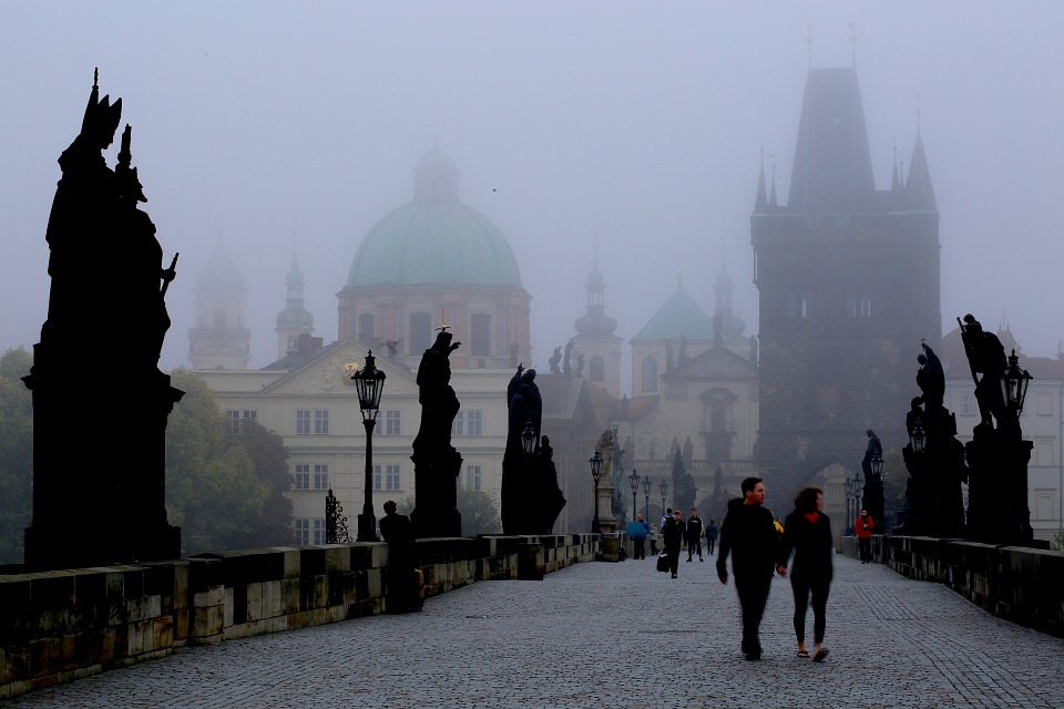 Прага.Карлов мост1