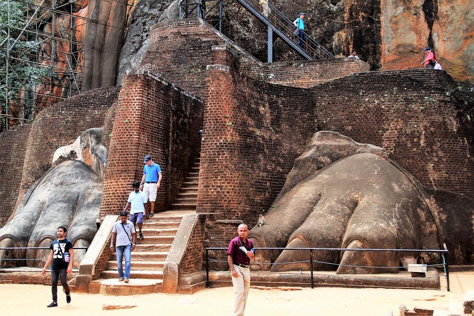 Шри-Ланка. Сигирия1