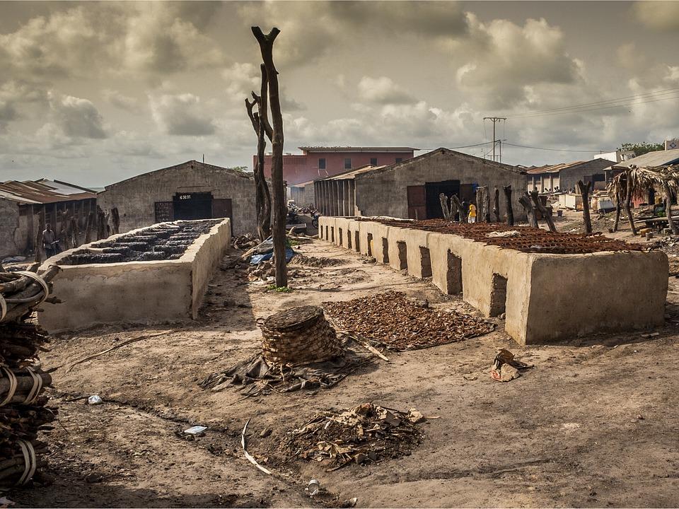 Гамбия.Деревня