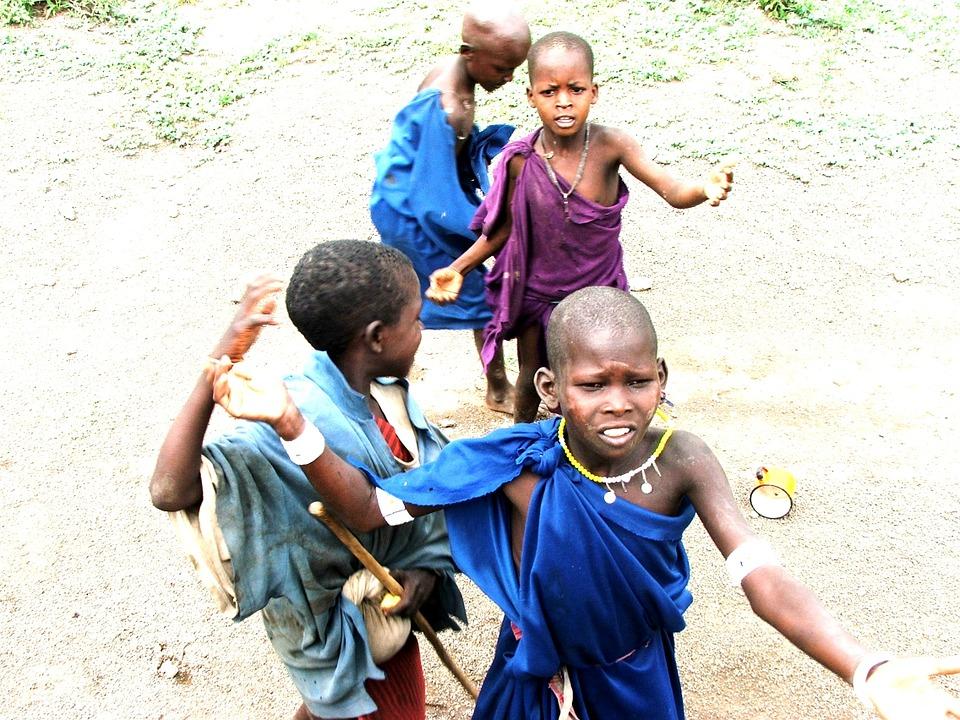 Гамбия.Дети