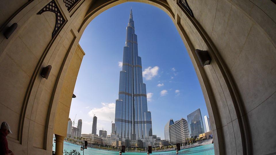 Дубай. Бурдж Калифа.
