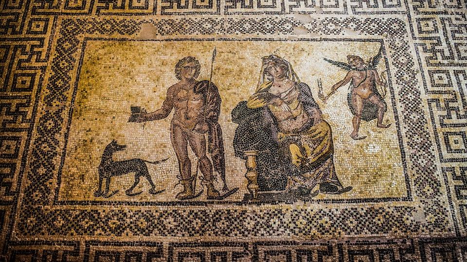 Кипр. Мозаичный пол