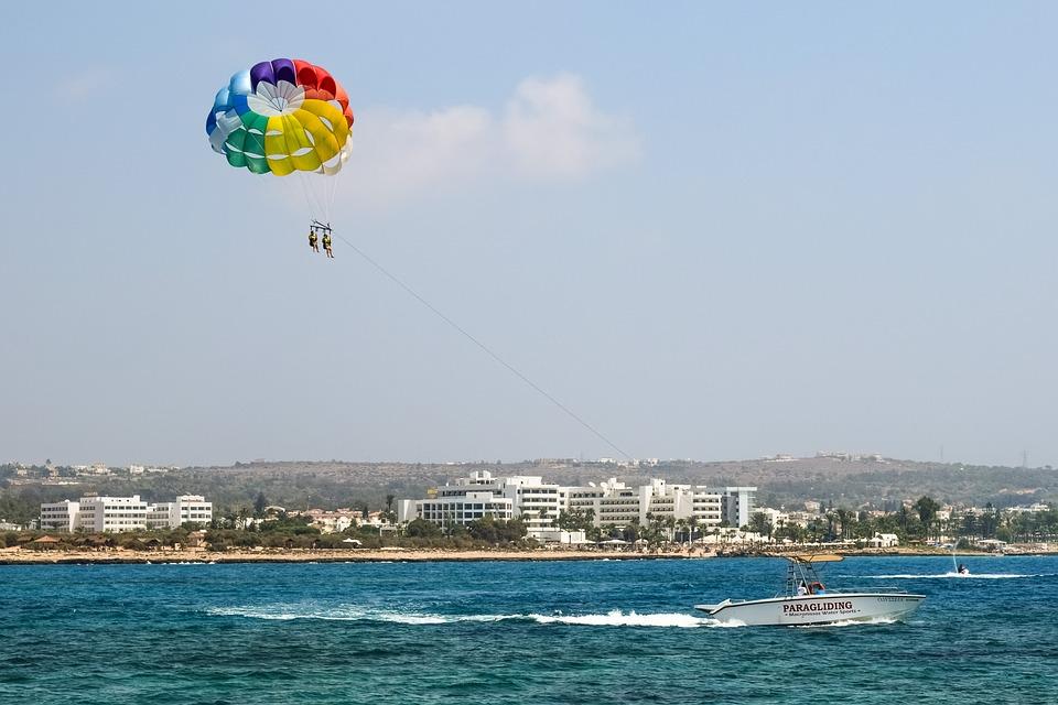 Кипр. Парапланеризм