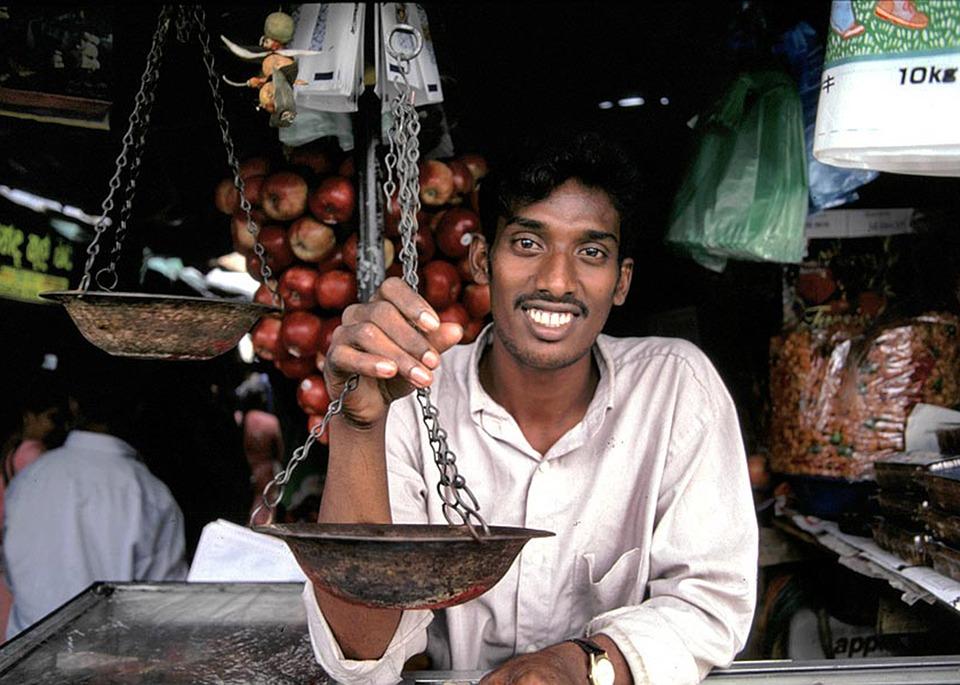 Шри-Ланка. Продавецjpg