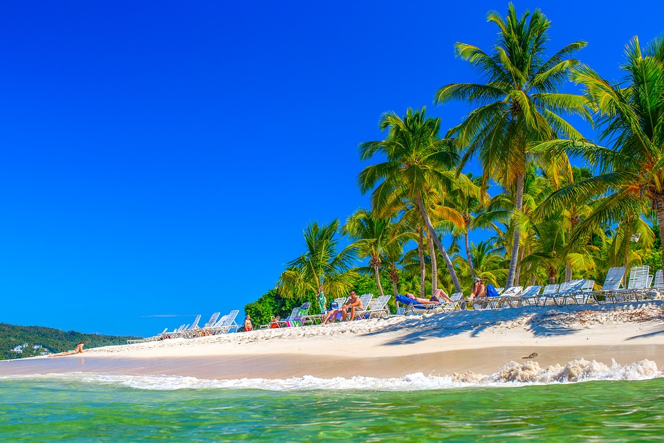 Доминикана пляж