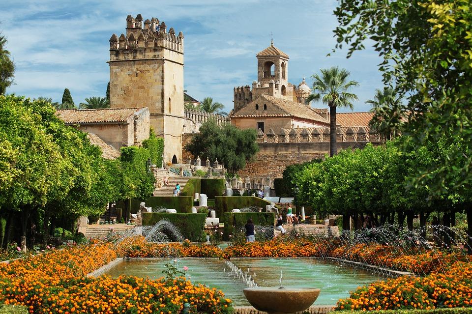 Испания. Алькасар. Парк
