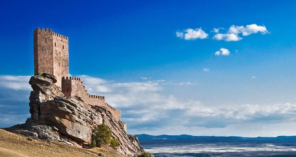 Испания. Замок Сафра