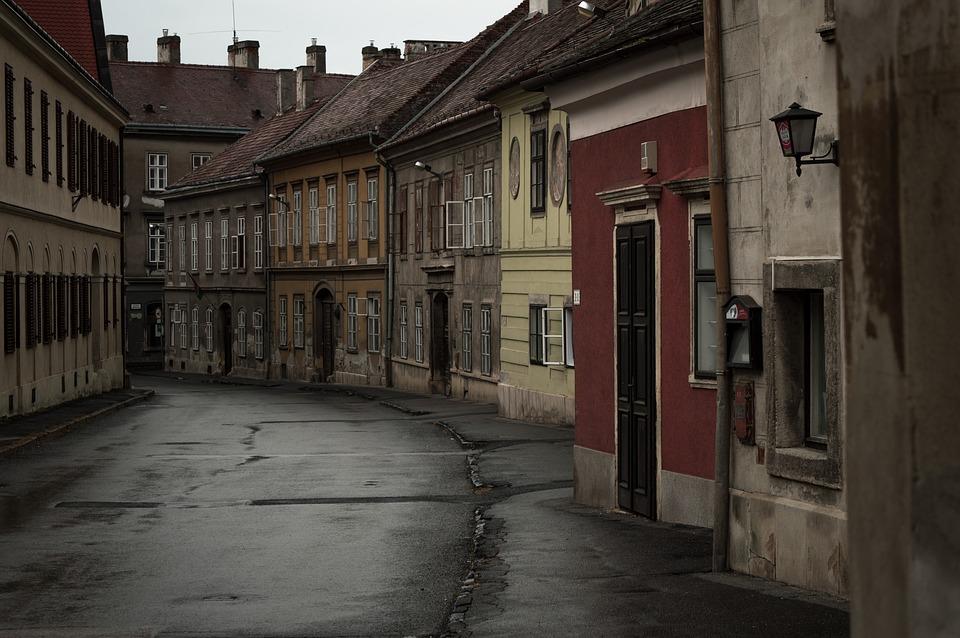 Венгрия. Шопрон. Улица.