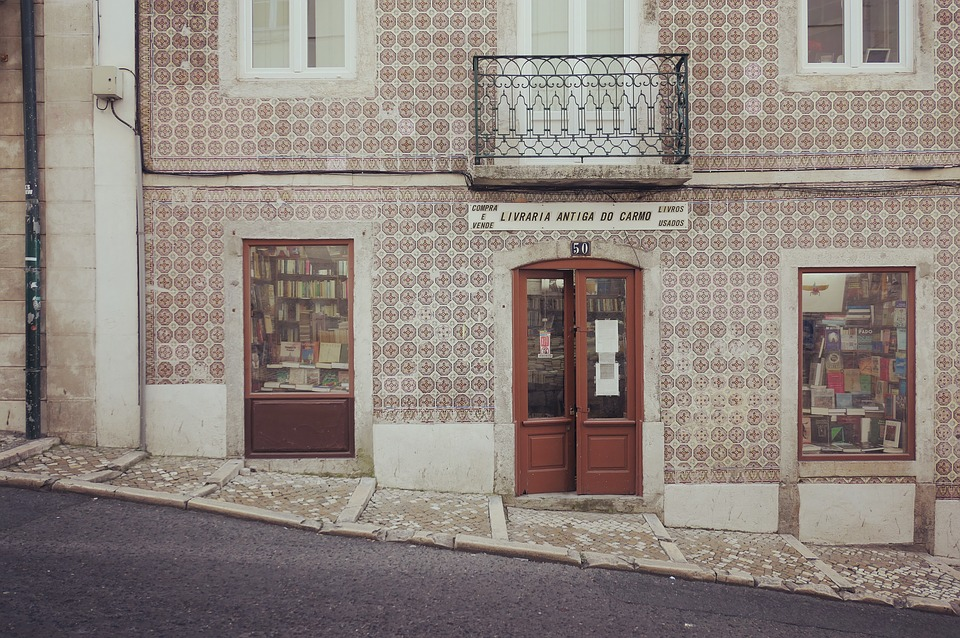 Португалия. Книжный магазин