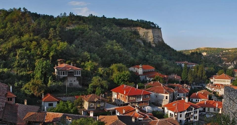 Болгария. Город Мелник
