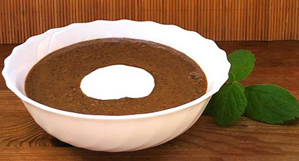 Латвия. Хлебный суп