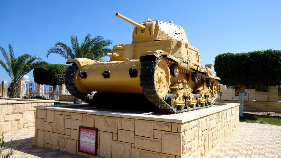 Египет. Эль-Аламейн. Военный музей