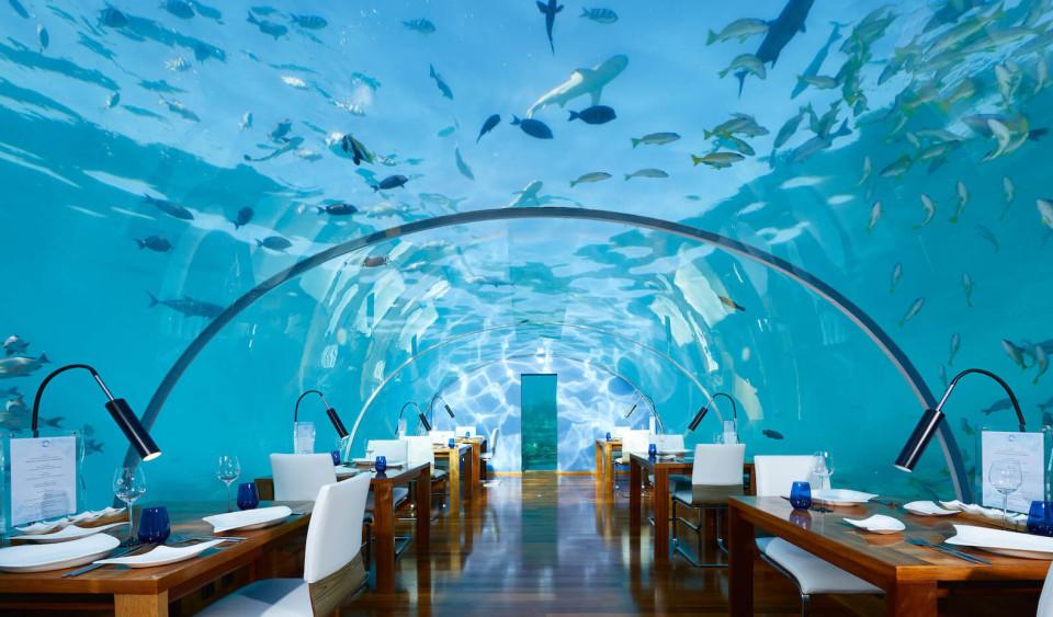Мальдивы ресторан1