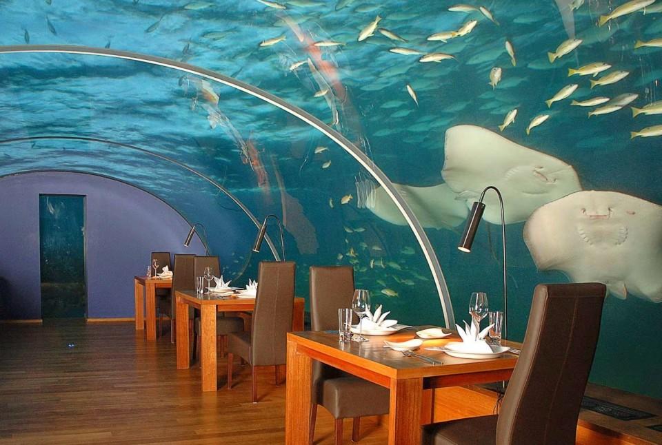 Мальдивы ресторан3