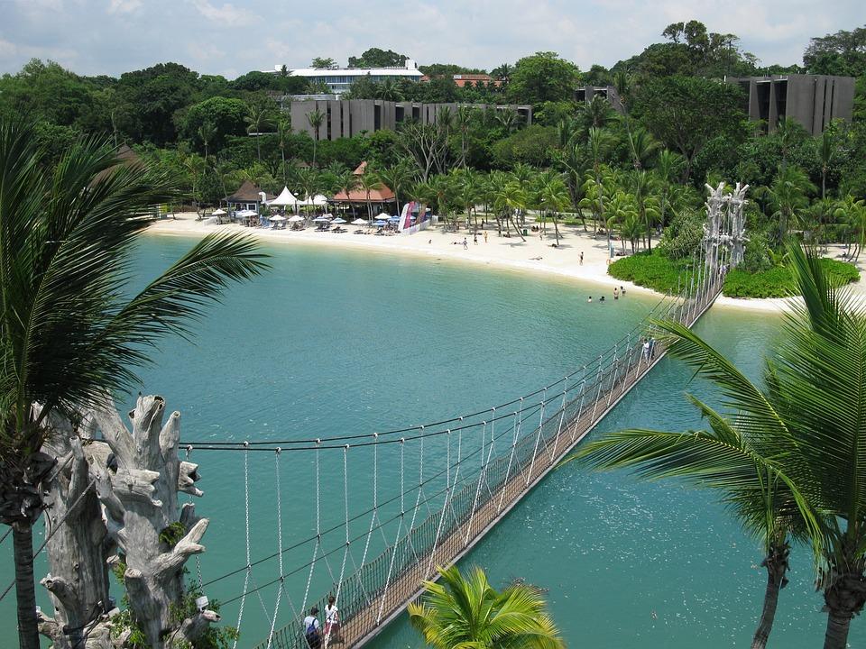 Сингапур Сентоса Пляж