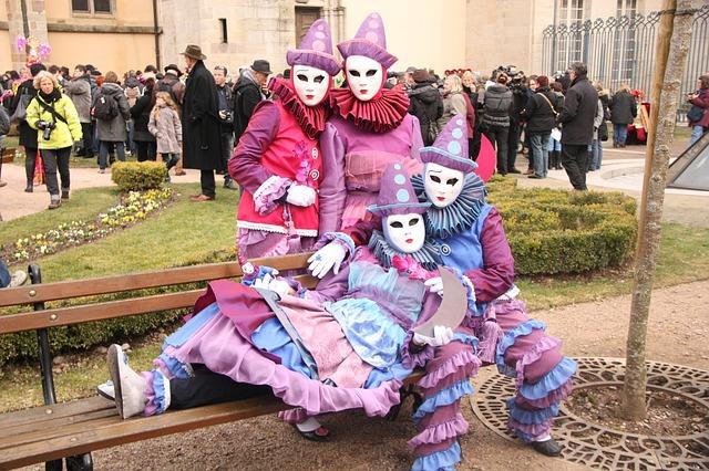 Италия. Венецианский карнавал