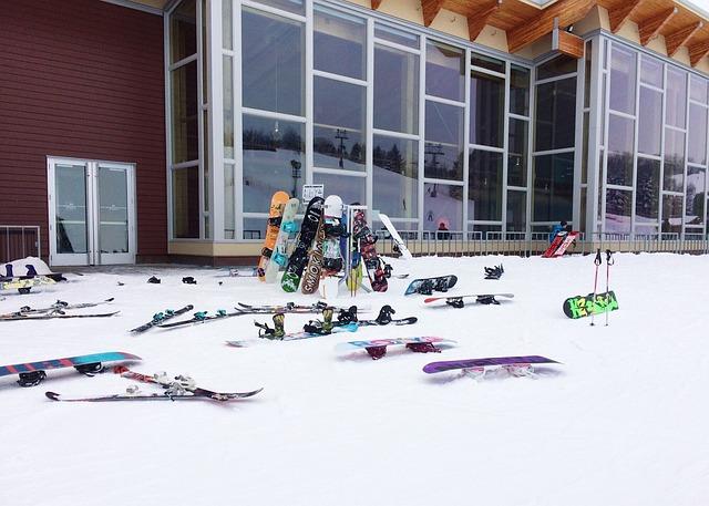 ОАЭ. Лыжи. Сноуборд